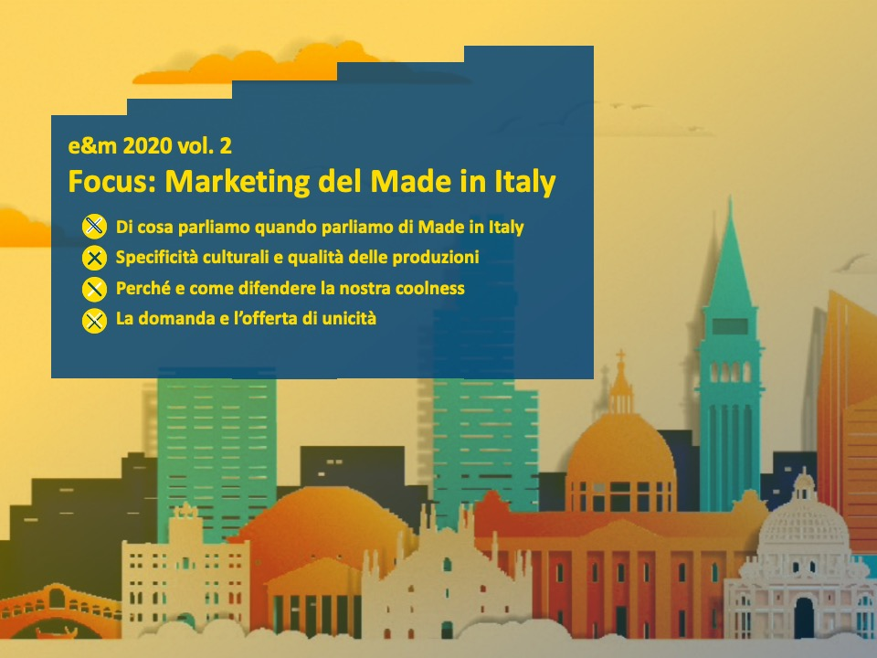 Focus. Marketing del made in Italy - e&m 2020 vol.2