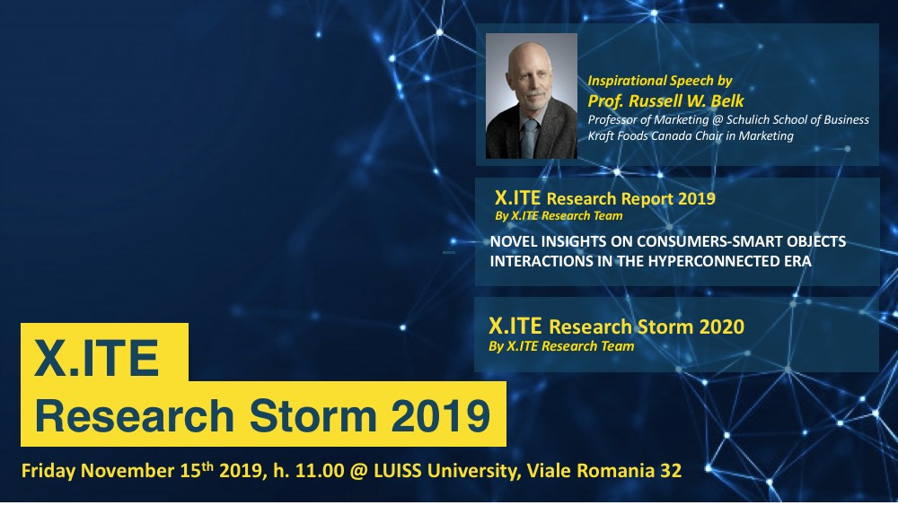 IV X.ITE Research Storm 2019