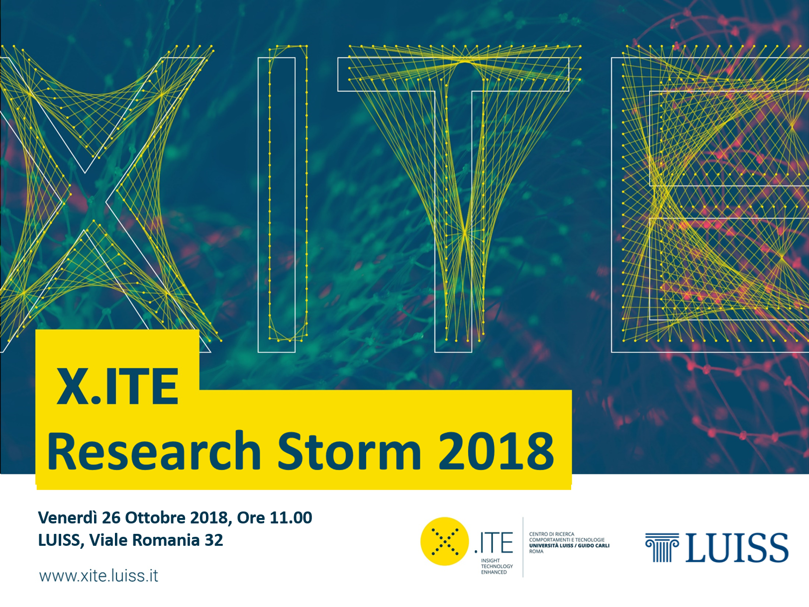 III X.ITE Research Storm 2018