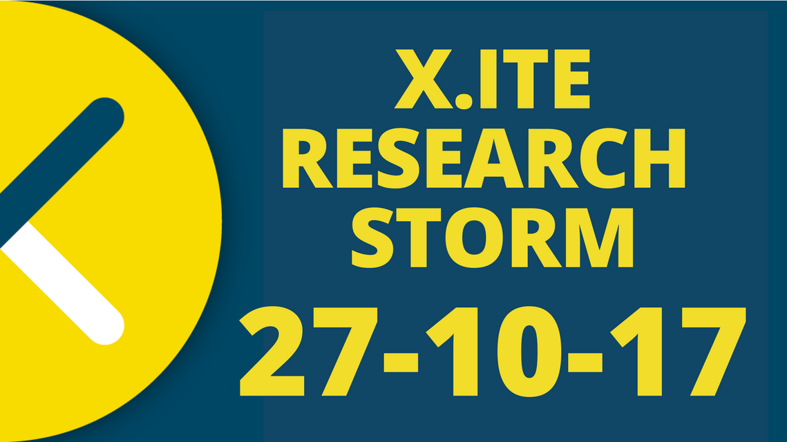 X.ITE Research Storm 2017